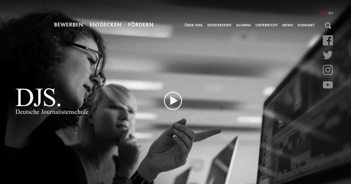 Stipendium Deutsche Journalistenschule